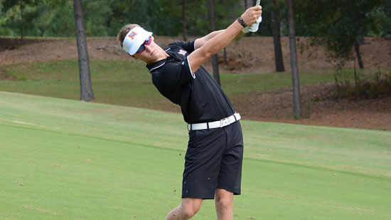 Brennan Bogdanovich made two eagles on the front nine (Mercer U. photo)