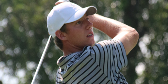Jordan Hahn set a tournament and course record on Wednesday <br>(CDGA Photo)