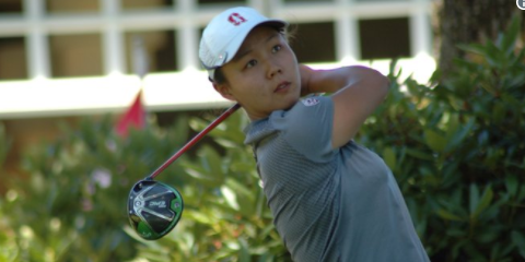 Top-seed Ziyi Wang is a sophomore at Stanford <br>(PNGA Photo)