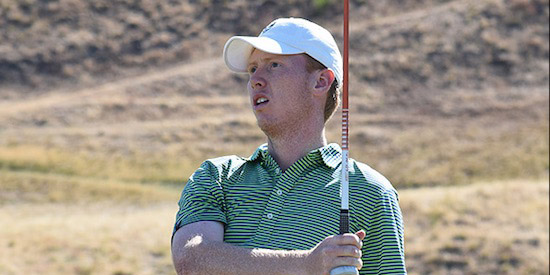 Third round leader Hayden Springer (Pacific Coast Amateur photo)