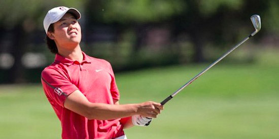 Brandon Wu posted 63 to medal at his U.S. Open local in May (NCGA)