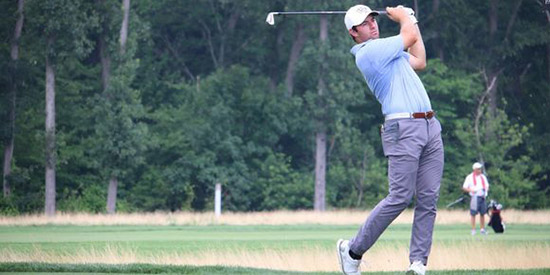 Who needs the money? A 64 at Bethpage Black is worth plenty to Cameron Young<br>(Amanda McKnight/LoHud.com photo)
