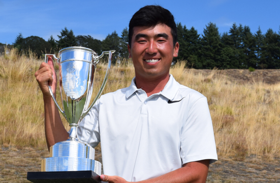 2017 Pacific Coast Amateur champion Doug Ghim