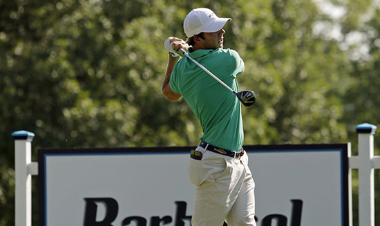 Sam Burns sits T6 at 13-under after three rounds<br>(oanow.com photo)