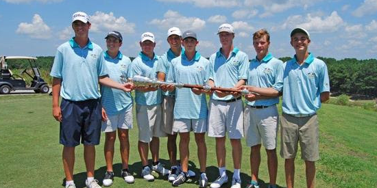 The victorious South Carolina team <br>(SCGA Photo)