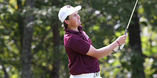 Benjamin Follett-Smith (66-66-69-67--268) was masterful all week<br>(Mississippi State photo)