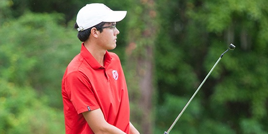 36-hole leader Christian Anderson <br>(Florida Southern Athletics Photo)