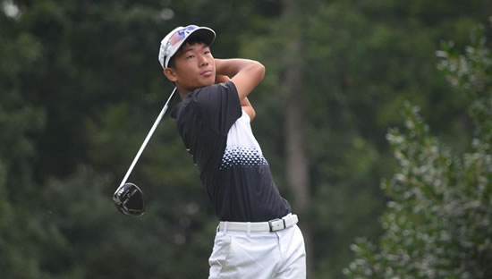 North Carolina Amateur Champion Eric Bae (CGA photo)