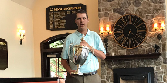 2017 Met Amateur winner Matt Mattare (MGA photo)