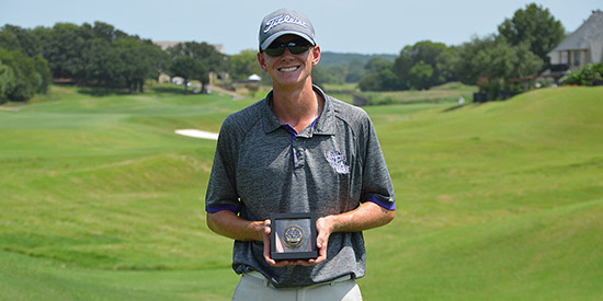 Max Kettler is the Texas North Amateur champion<br>(TGA photo)