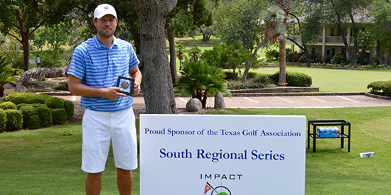 Tim Hamm is the Texas South Amateur champion<br>(TGA photo)