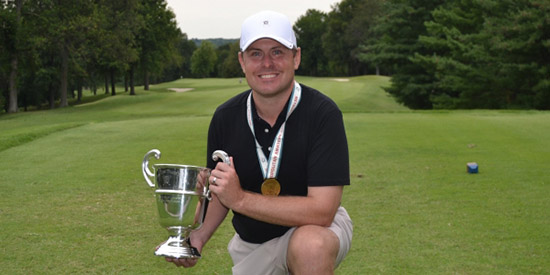 Shawn Jasper, the 2017 Metropolitan Amateur Golf Association champion<br>(MAGA photo)
