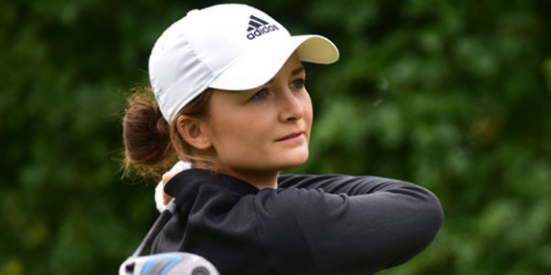 Sophie Lamb (6 under) was the low amateur at Kingsbarns <br>(Women and Golf Photo)