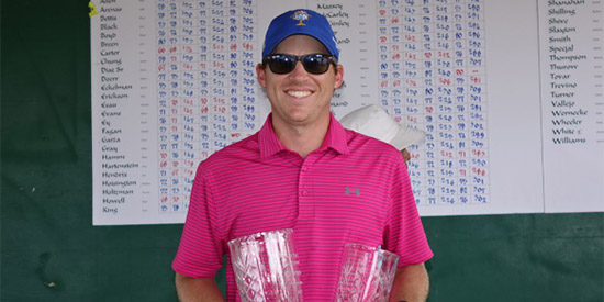 Jonathan Alden can finally smile after winning Austin City Championship<br>(Golf Austin photo)