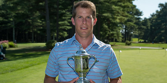 Ben Spitz, the 2017 Massachusetts Public Links champion<br>(MGA photo)