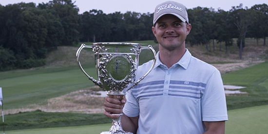 New York State Amateur winner Adam Condello <br>(NYSGA Photo)