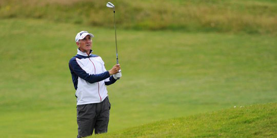 Euan McIntosh shot 13 under to prevail at Leven Links<br>(Scottish Golf photo)