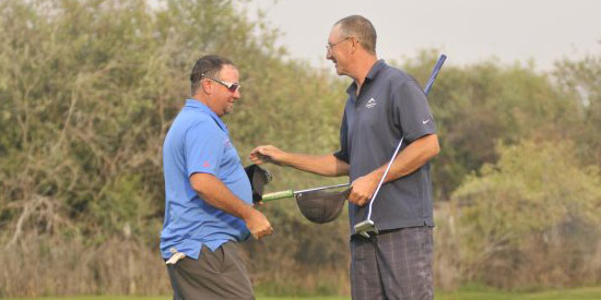 Joe Cielak (right) wins the 2017 Montana State Mid-Am<br>(Jerek Wolcott/MontanaSports.com photo)