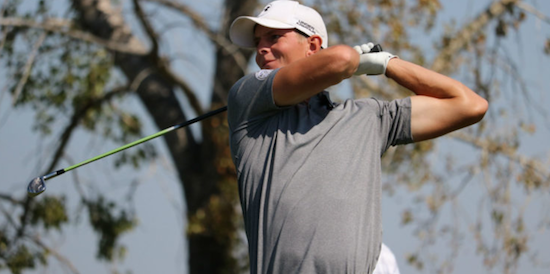 Steven Diack fired a 5-under 66 to take the midway point lead <br>(Golf Canada Photo)