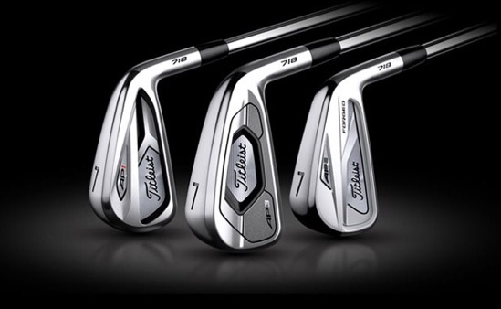 Titleist Introduces New 718 Irons