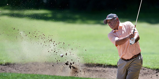 Ramiro Romo is a two-time Wisconsin senior champion (Times Journal photo)