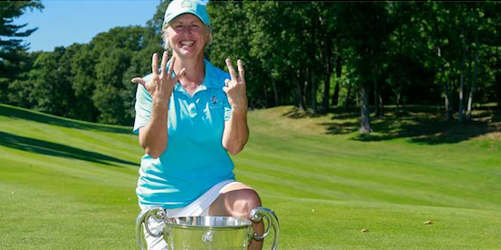 Ellen Port won her seventh USGA title last year <br>(USGA Photo)