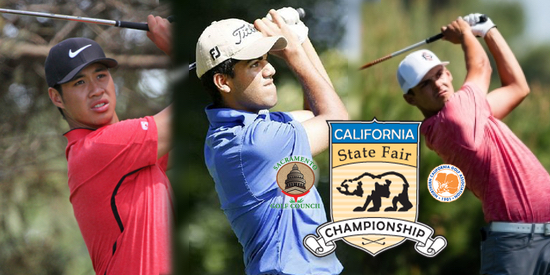 Cal State Fair Amateur: 3 Shoot 66 to Hold 18-Hole Lead