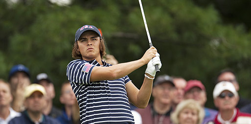 Rickie Fowler went 7-1-0 in two Walker Cup appearances <br>(USGA Photo)