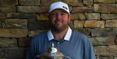 Champion Matt Cooper <br>(TN Golf Association Photo)