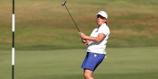 2014 U.S. Senior Women's Amateur champ Judith Kyrinis <br>is among the four Canadians still alive <br>(USGA Photo)