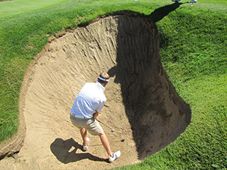 The Devil's A**hole Bunker at Pine Valley