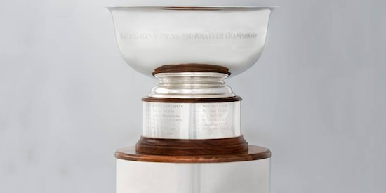 U.S. Women's Mid-Amateur trophy <br>(USGA Photo)