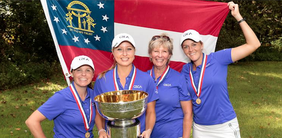 Georgia won the title for the fourth time in 2015 <br>(USGA Photo)