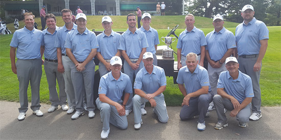 The victorious WPGA amateur team<br>(WPGA photo)