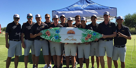 It's hard to surf in the desert, but Arizona State has a new board for it (ASU photo)