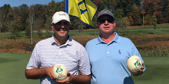 Matt Meyer and Matt Wills, the 2017 Egg Invitational champions