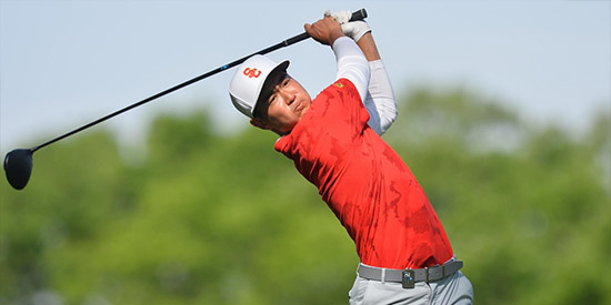 Justin Suh won the inaugural Trinity Forest Invitational<br>(USC photo)