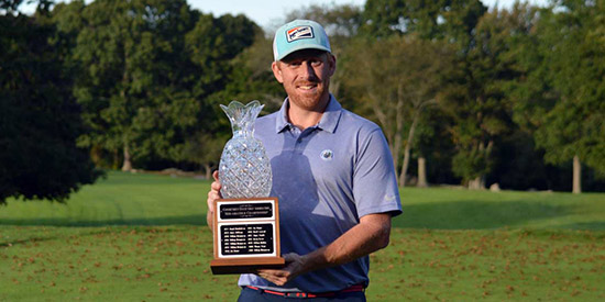 Mike Kennedy, the 2017 Connecticut Mid-Amateur champion<br>(CSGA photo)