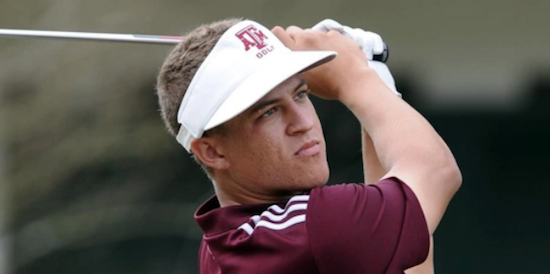 Cameron Champ of No. 1 Texas A&M <br>(Texas A&M Photo)