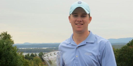 James Pleat, the 2017 New Hampshire Mid-Amateur champion<br>(NHGA photo)