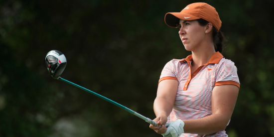 Sophia Schubert recorded her third collegiate win on Tuesday <br>(Texas Athletics Photo)