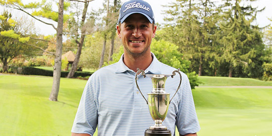 Dave Praet used his home course advantage to win at Indianwood<br>(GAM photo)