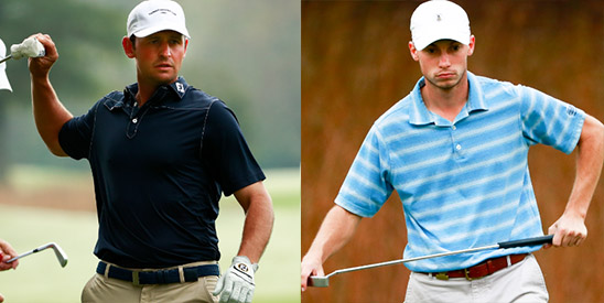 Matt Parziale (L) and Josh Nichols (R) each won their 5th<br>straight match to advance to the final (USGA photo)