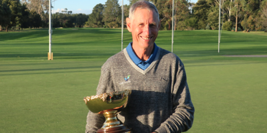 Champion Greg Rhodes <br>(Golf Australia Photo)