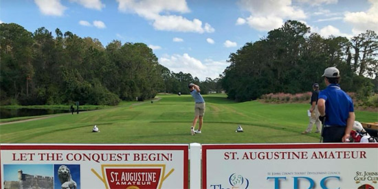 Saccente Leads St. Augustine Amateur with a 67