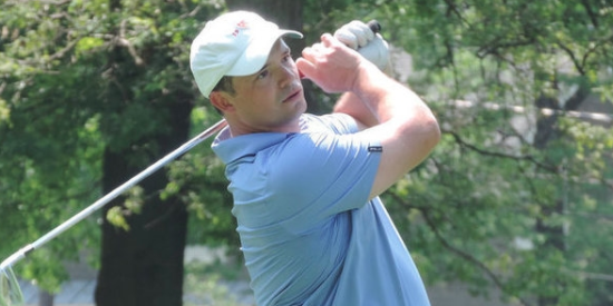 Trevor Randolph (pictured) is tied for the lead with Brad Barnett <br>(MGA Photo)