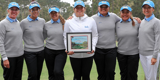 UCLA repeats at the Stanford Intercollegiate <br>(UCLA Athletics Photo)