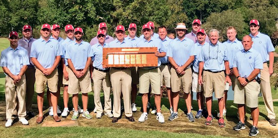The winning Virginia team <br>(CGA Photo)