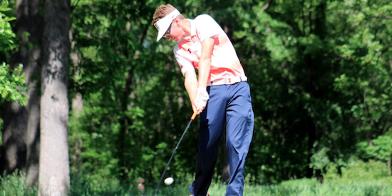 Medalist leader Dylan Meyer of Illinois <br>(Illinois Athletics Photo)