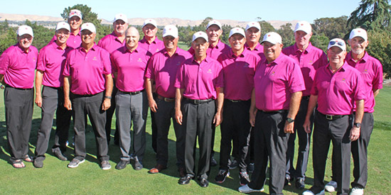 The NCGA senior amateur Staedler-Jetter Cup team<br>(NCGA photo)